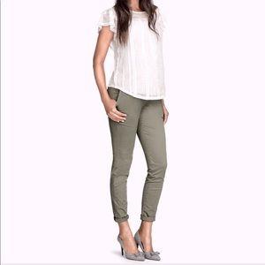 'Mama Chinos' H&M Maternity Pants NWT Size 10
